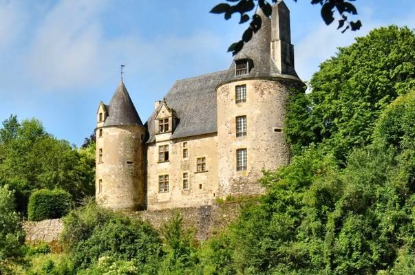 Cliquer pour agrandir : Façade est du château ; 2012 (c) CD24
