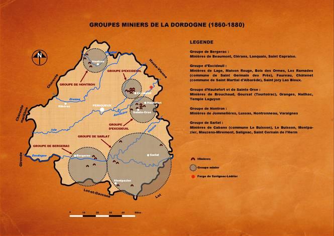 Carte minière
