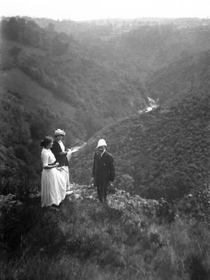 Cliquer pour agrandir : Les gorges de l'Auvézère ; septembre 1912 © Fonds Combescot-Salats, série 48FI, AD24