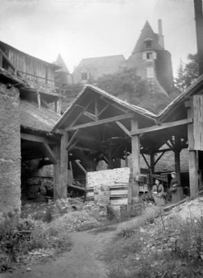 Cliquer pour agrandir : Four à puddler ; vers 1890 © Fonds Combescot, série 47FI, AD24